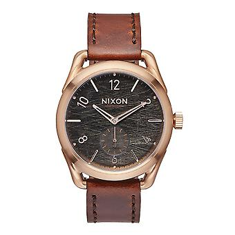 Nixon The C39 Leather Rose Gold / Brown (A4591890)