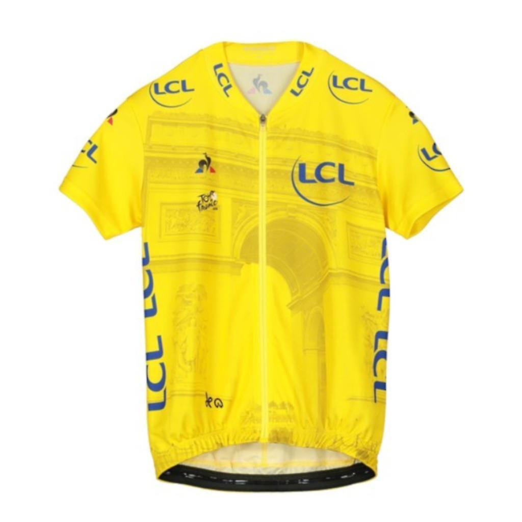 Tour de France Le Coq Sportif Enfants Replica Arrivee Jersey (fr) Jaune 2019 - France 8 Annonces