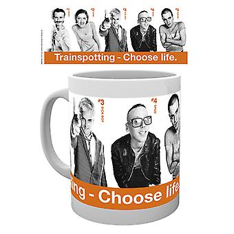Trainspotting Cast Boxed Drinking Mug