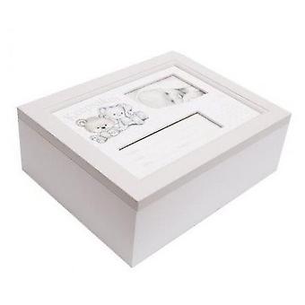 Baby bunny og Bear keepsakes Box