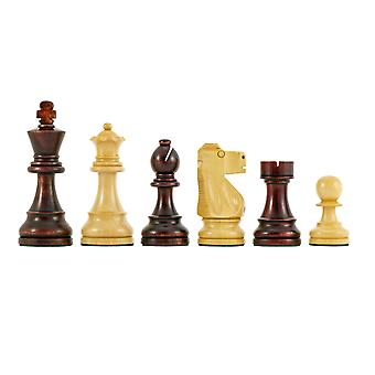 Antiqued British Staunton Chessmen 3.75 Inches