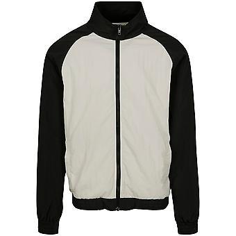 Urban Classics Men ' s Training jaqueta dobra contraste Raglan