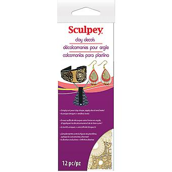 Sculpey Clay Stickers-AS2180