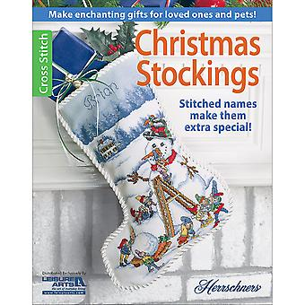 Leisure Arts-Christmas Stockings LA-6488