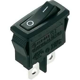 Toggle switch 250 Vac 4 A 1 x Off/On SCI R13-243A-02 latch 1 pc(s)