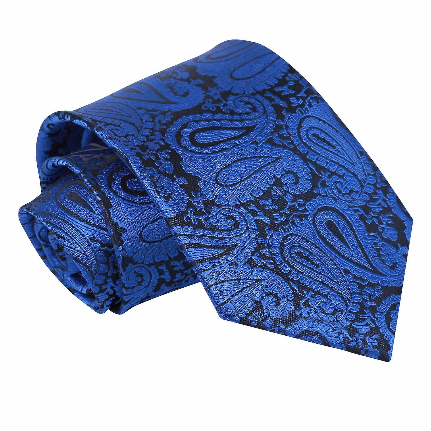 Royal Blue Paisley Tie