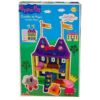 Simba Castle Construction Peppa (Jouets , Constructions , Édifices)
