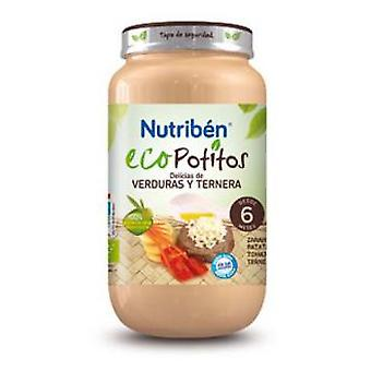 Nutribén Delicias Vegetable And Beef 250 Gr (Enfance , Alimentation , Petits-pots)