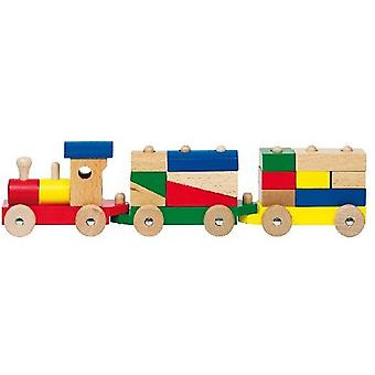 Goki Rom, Train With Cubes (Toys , Vehicles And Tracks , Mini Vehicles , Cars)