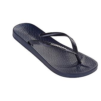 Ipanema Tropical Womens Flip Flops / Sandals - Navy