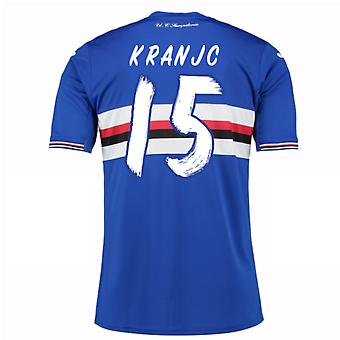 2016 / 17 Sampdoria Home Shirt (Kranjc 15) - Kinder