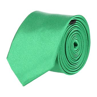 Frédéric Thomass extra narrow tie Club tie Green 5 cm