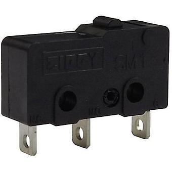 Microswitch 250 Vac 16 A 1 x On/(On) Zippy SM1-16H-00A0-Z momentary 1 pc(s)