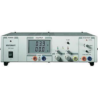 VOLTCRAFT VSP 1220, 409W 2 Output Remotely Controllable Variable DC Power Supply, Switched Mode, Sense Function, Bench