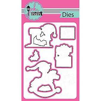 Pink And Main Dies-Santa Mail, 5/Pkg PNM048