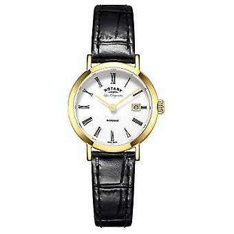 Rotary Womans Windsor Gold Plated LB90156/03 Watch
