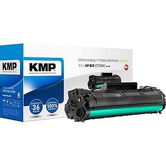 KMP Toner cartridge replaced HP 83X, CF283X Compatible Black 2300 pages H-T194