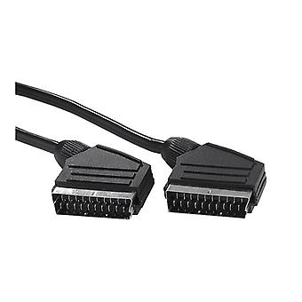 EXXTER Scart Cable 1, 5 m Black