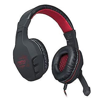 SPEEDLINK Martius Stereo verlicht Gaming Headset - zwart/rood (SL-860001-BK)