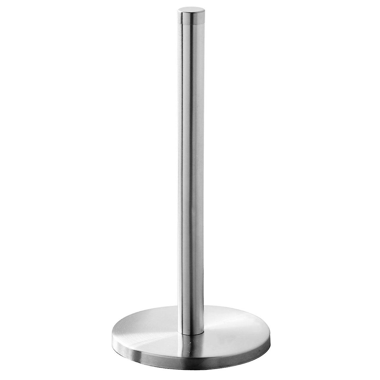 Kitchen Towel Roll Holder/ Pole, Brushed Stainless Steel