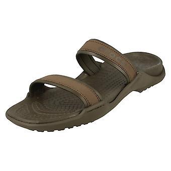 Ladies Crocs Slip på sandaler Patra