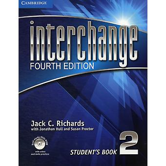 Interchange Level 2 Student's Book with Self-study DVD-ROM (Interchange Fourth Edition) (Paperback) by Richards Jack C. Hull Jonathan Proctor Susan