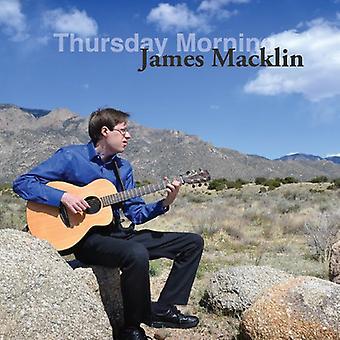 James Macklin - Thursday Morning [CD] USA import