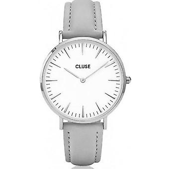 Watch Cluse Bohemia CL18215 - mixed Surpiquee grey watch
