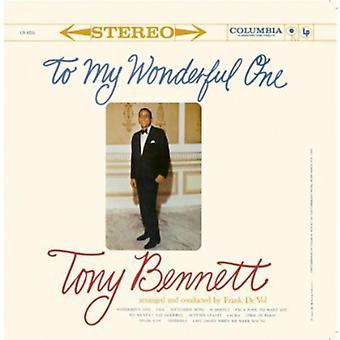 Tony Bennett - To My Wonderful [CD] USA import