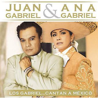 Juan Gabriel & Ana Gabriel - Los Gabriel Cantan una importación de USA de México [CD]