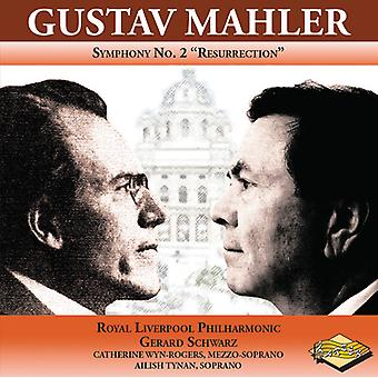 Mahler / Royal Liverpool Philharmonic / Schwarz - symfoni No. 2 opstandelse [CD] USA import