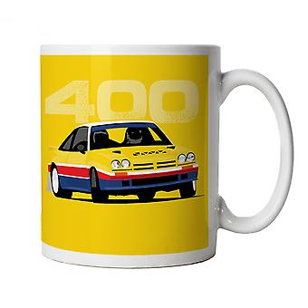 Vectorbomb, Manta, Classic Group B Rally Car Mug