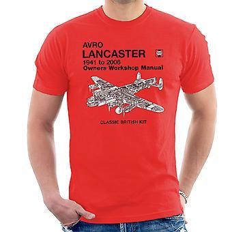 Haynes Owners Workshop Manual Arvo Lancaster 1941 tot en met 2006 T-Shirt voor mannen