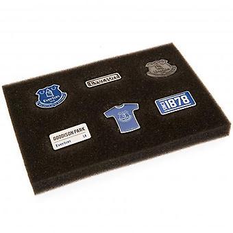 Everton 6 Piece Badge Set