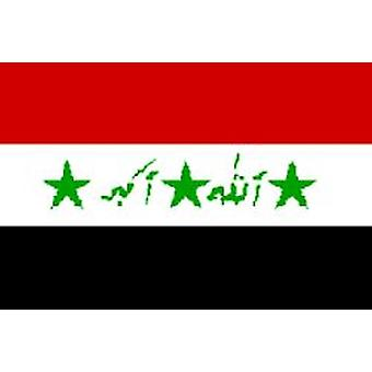 Iraq Flag 5ft x 3ft With Eyelets For Hanging