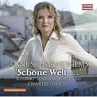 Korngold, Erich Wolfgang / Spencer, Charles - Schone Welt [CD] USA import