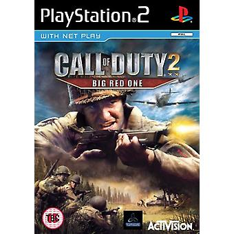 Call of Duty 2 Big Red man (PS2)