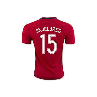 2016-17 Noorwegen Home Shirt (Skjelbred 15)