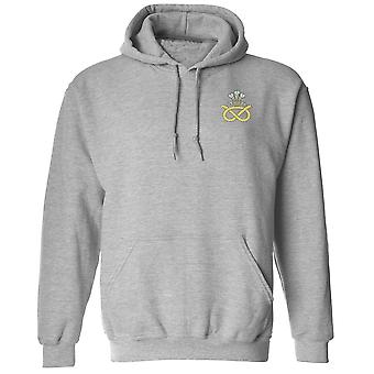 The Staffordshire Regiment Embroidered Logo - Official British Army Hoodie