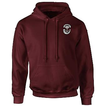 Somerset Light Infantry Embroidered Logo - Official British Army Hoodie