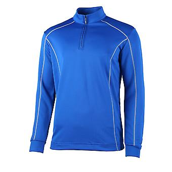 Rhino Mens Seville 1/4 Zip Midlayer Sports Top