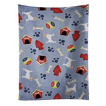 Dog House Collection Jack Russell Terrier Kitchen Towel