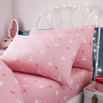 Princess Selfie Girls Kids Single Duvet Quilt Cover Children Bedding Set