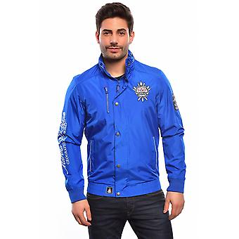 Geographical Norway men's jacket Chalutier Royal Blue