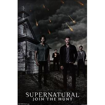Supernatural - Kościół plakat Poster Print