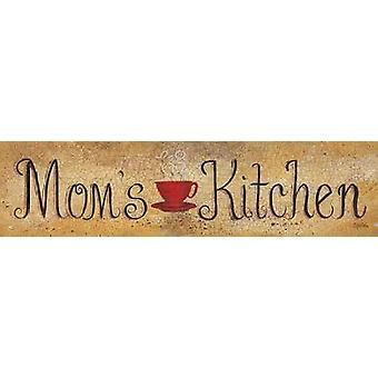 Moms Kitchen Poster Print by Gail Eads (20 x 5)