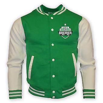 Werder Brême College Baseball Jacket (vert)