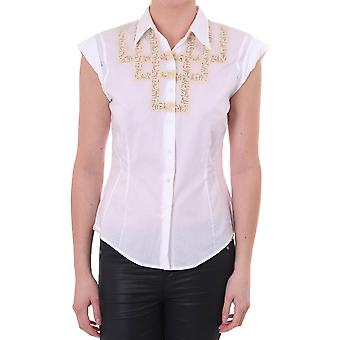 Paul Smith Vintage Womens Ss Shirt With Embroidery