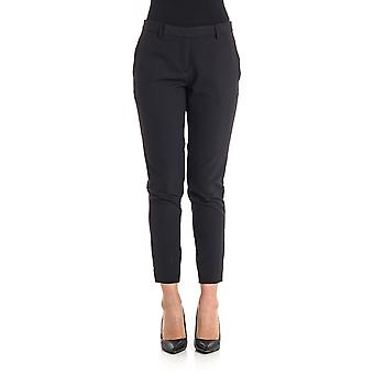 Newyorkindustrie women's NYCC602PA001490 black cotton pants