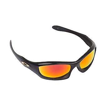 Monster Dog Replacement Lenses Hi Yellow & Ruby Red by SEEK fits OAKLEY